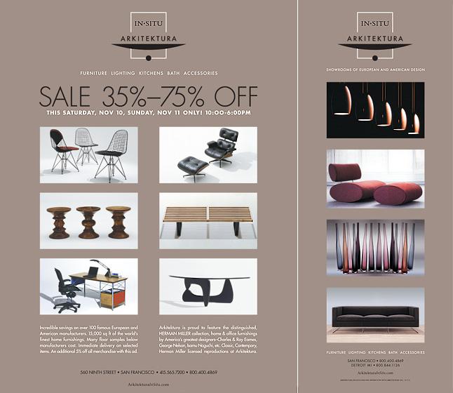 arkitektura modern furniture ads